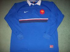 1999 2000 France L/s Rugby Union Shirt Adults XL Maillot