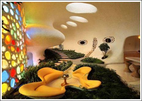 futuristic green house