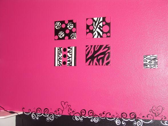25 b sta zebra girls rooms id erna p pinterest for Pink zebra bedroom ideas