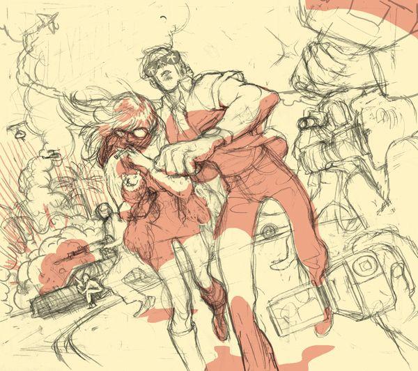 Tomer Hanuka.  Excellent.  http://tropicaltoxic.blogspot.ca/2011/03/hollywood-fixer.html