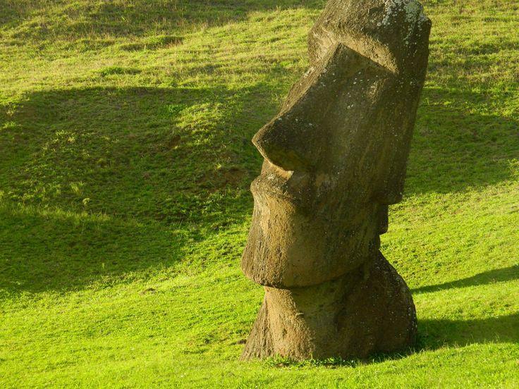 Moai, Easter Island.