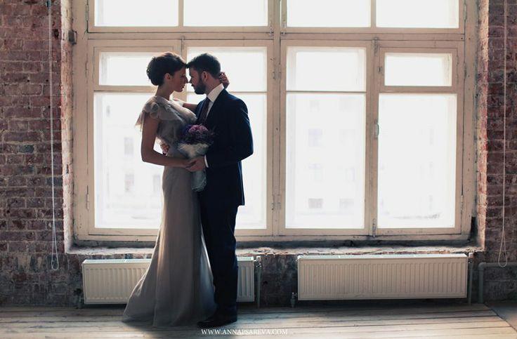 свадьба в фиолетовых тонах