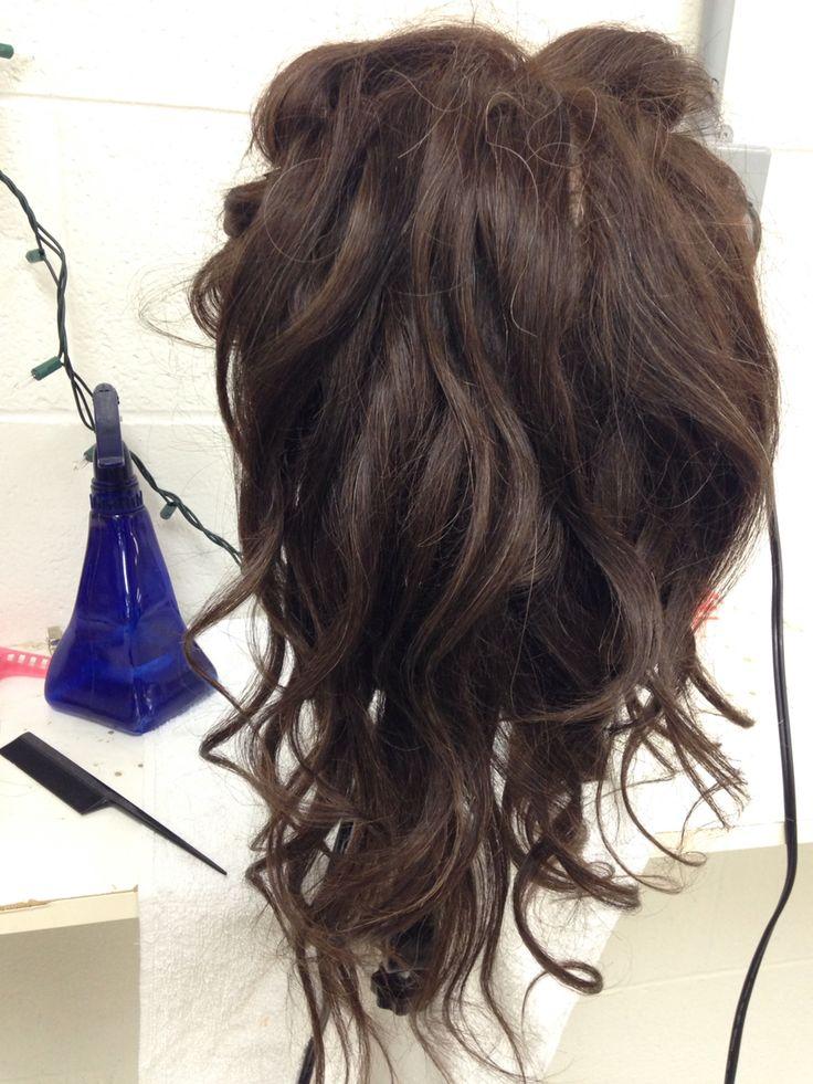 Spiral curls (wand idea)