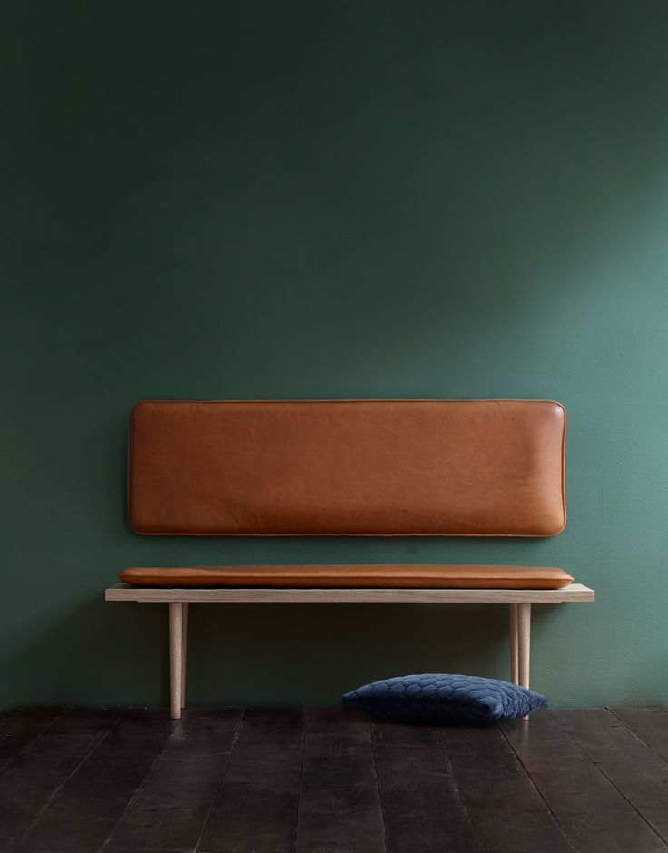 PIECES BY THORNAM - - Create your own favorite spot with customized leather cushions