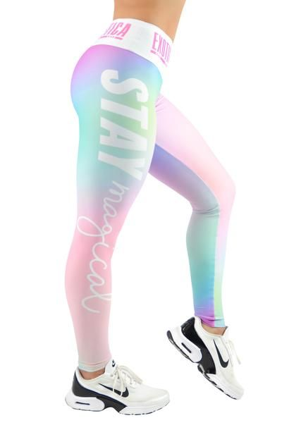LIMITED Body Contouring Mid Waisted Leggings - Stay Magical