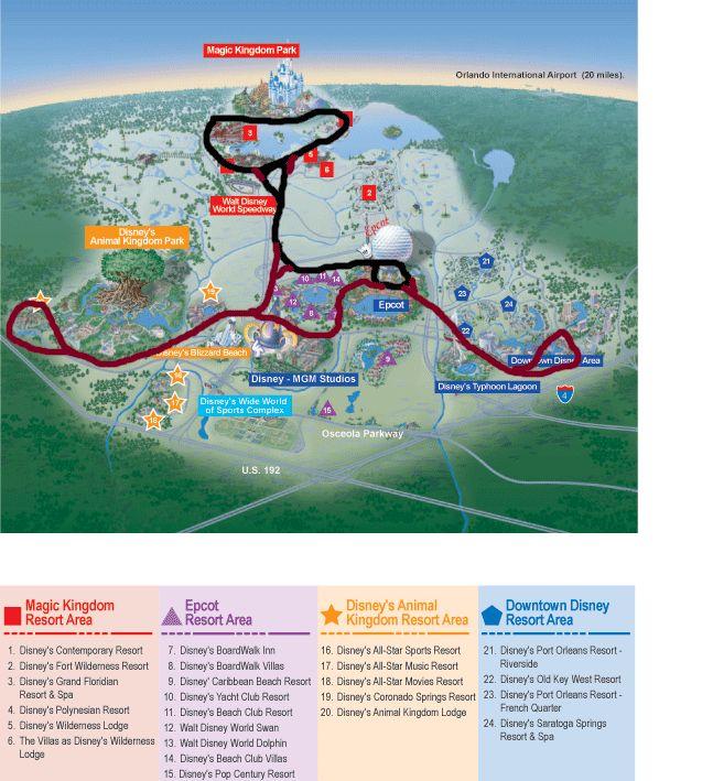 Walt Disney World Monorail Expansion Map Disney Pinterest Disney Worl