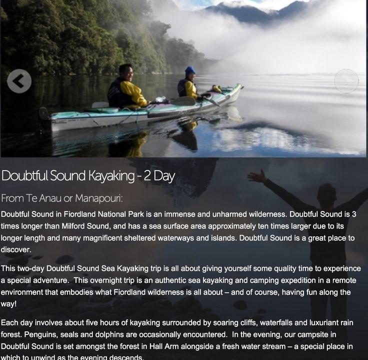Doubtful sound, Fiorland-South Island