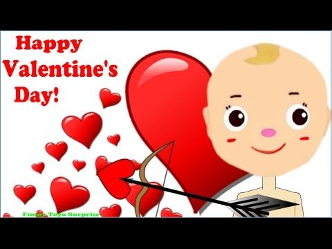Happy Valentine's Day! Cartoon Animation for Kids, Cupid with the magic arrows 💕Dory, Destiny, Pikachu, Hello Kitty. Hi friends, this is Funny Toyo Surprise ...