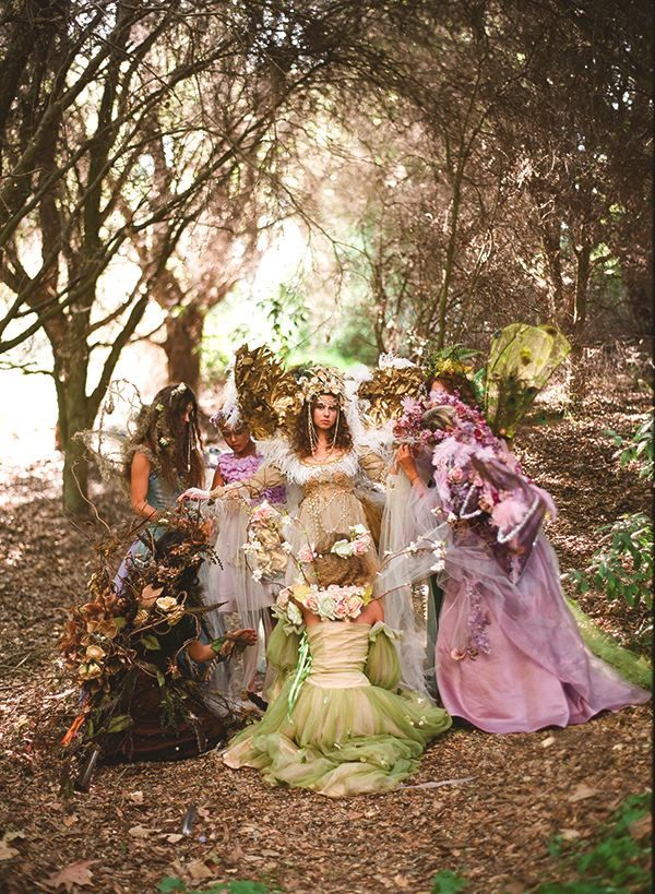 outlet handbags online FAIRY WEDDING IN THE WOODS  Fairy wedding ideas