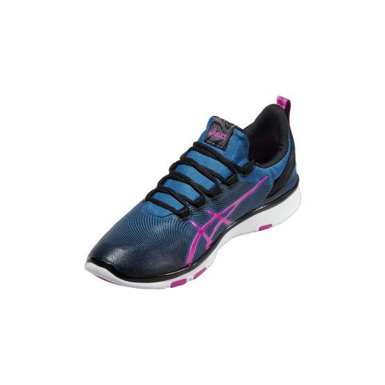 Asics Gel-Fit Sana 2 fitness cipő női kék,pink,fekete