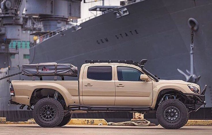 Toyota Tacoma. Love this Tacoma!!    It's exactly how I'd set mine up!