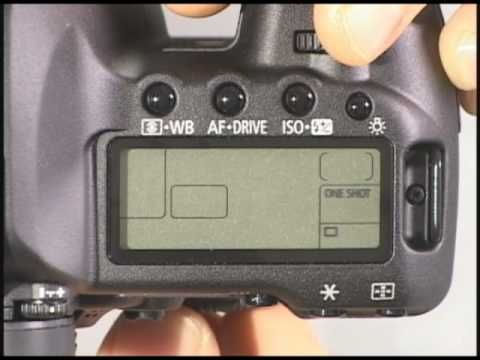 Canon 5D Mark II Top Buttons - VERY HELPFUL!