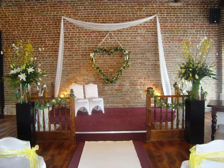 Dais in the Fathom Barn - Wedding venue in Kent.