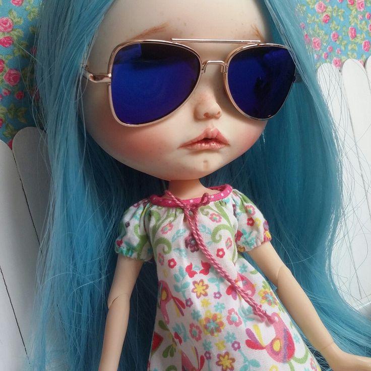 Gafas de sol de espejo para Blythe