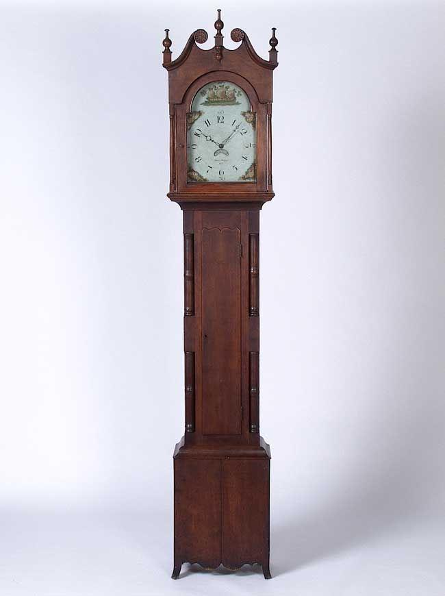 Tall Case Clock, Bucks County, Pennsylvania, c. 1820
