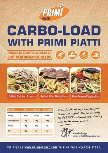 Whatever your sport... Primi Piatti George haS the carbo-load just for you!! Only at Caledon Square.  #cardoload #primipiatti #caledonsquare