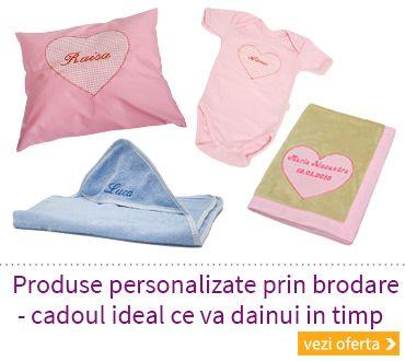 Articole personalizate bebelusi | Cadouri Botez | Cadouri personalizate botez | Bebebliss.ro Articole bebelusi personalizate, lucrate la comanda sunt cadoul ideal pentru un bebelus in special… BE...