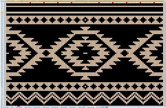 Muster für Mochilabag o.s.