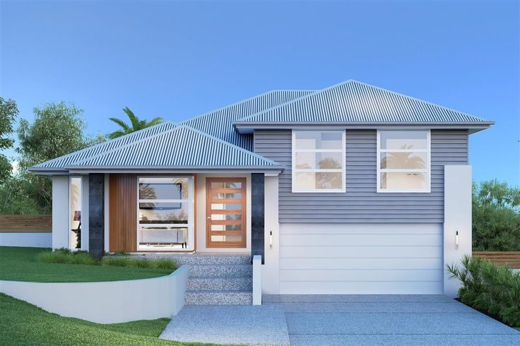Regatta 264 split level home designs in gj gardner for Split level home designs sydney