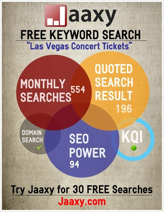 Jay did a free search (via infograph) for you..   Las Vegas Concert Tickets ==> http://www.facebook.com/photo.php?fbid=374921632572316