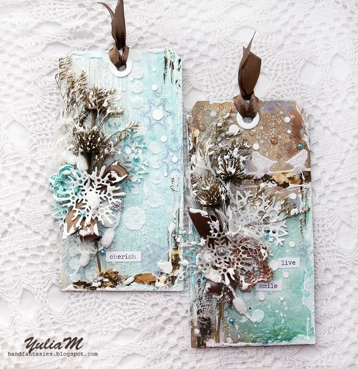 Winter Tags and Tutorial
