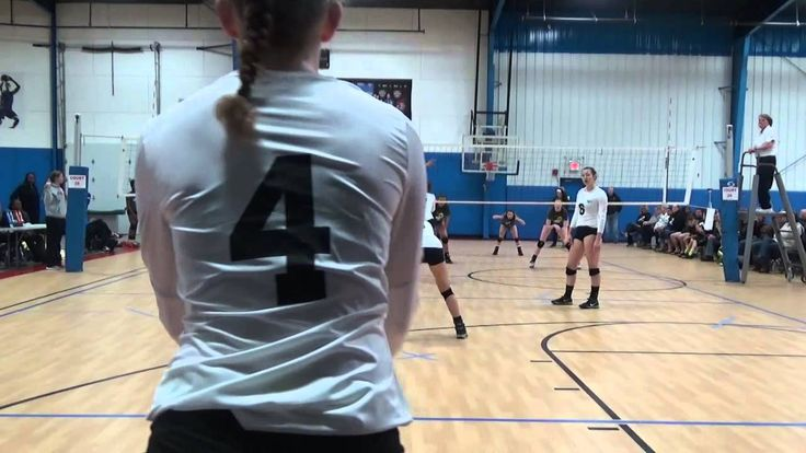 Jaiden Mason Volleyball Setter - 6 2 rotation Defense and Hitting #8