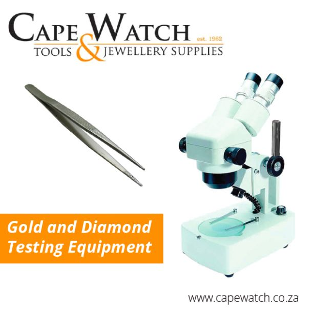 Are you doubting the authenticity of your diamond and gold jewellery? Our extensive range of diamond and gold testers can help you identify the reals from the fakes. http://www.capewatch.co.za/category/gold-and-diamond-testing-equipment