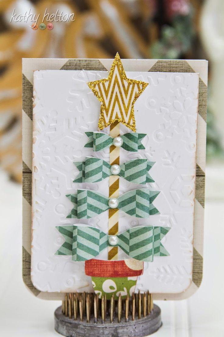 Scrapbook ideas christmas card - Scrapbooking Idea For A Christmas Card