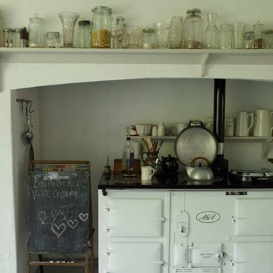 Love this!  Brings back many memories of a kitchen from long ago! Happy memories.  <3
