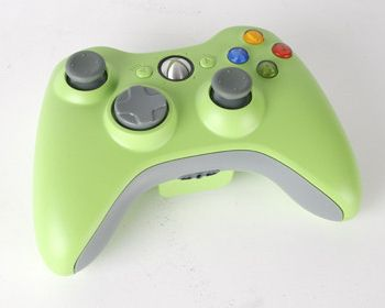 Green Xbox 360 Controller #gaming #gamer #xbox