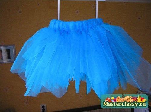 Сшить пышная юбка для танцев