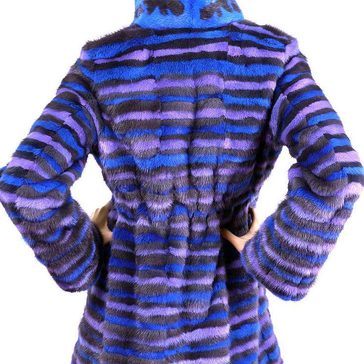 Купить Меховая мода 2014 - в полоску, mexdizain, меховая мода 2014, шуба, шубка