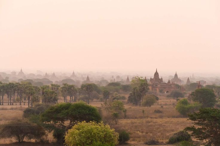 We stayed in Bagan for 4 days and it is true: Travel to Bagan and you will find an incredibly beautiful scenery! When I was climbing up one of the temples for the first time and