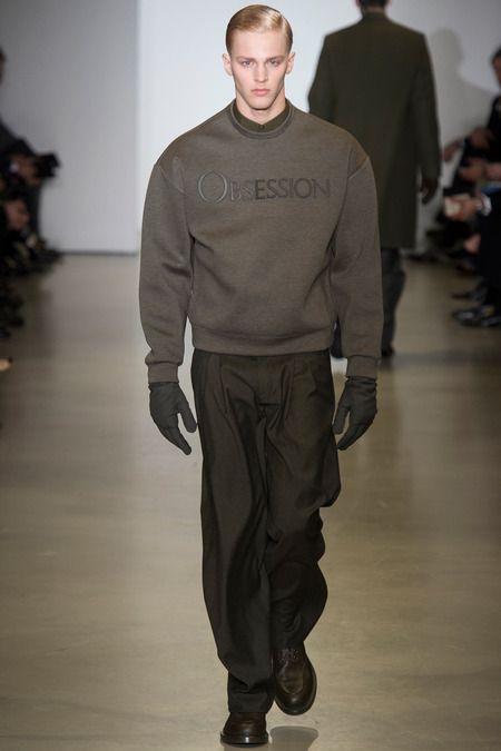 Calvin Klein menswear Obsession sweatshirt