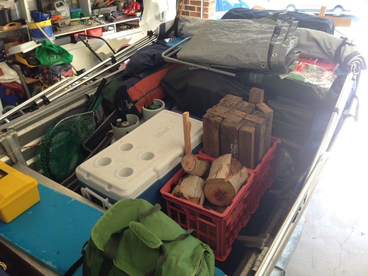 The #CampKingsCrew and #GRUMBLEBUM are almost packed and ready to head to #GentlemansHalt #campground on our #GTFO #GetTheFamilyOutdoors #adventure #Marramarra #free #camping #tinny