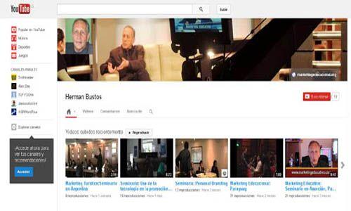 http://www.youtube.com/user/HermanBustos