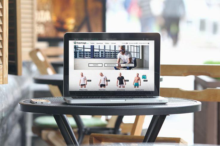 Bamigo.com - Google+ new website, webdesign, bamboo clothing