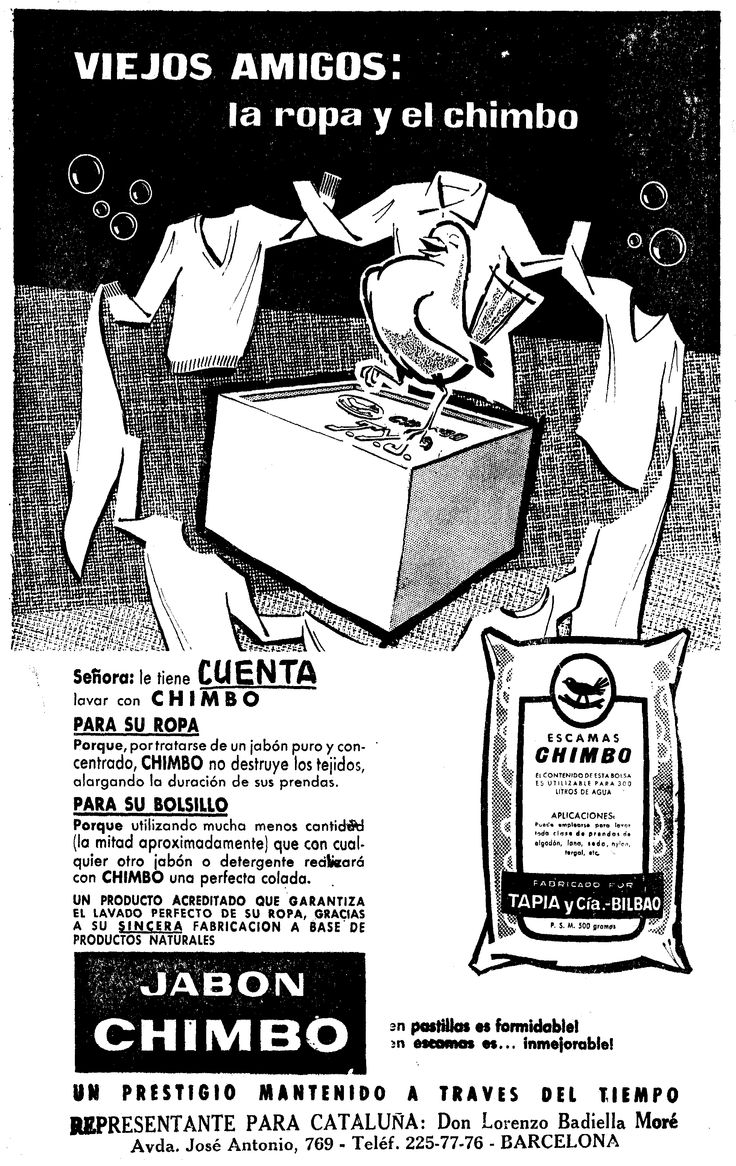 Jab n chimbo la vanguardia 1963 historia gr fica del for La despensa del jabon opiniones