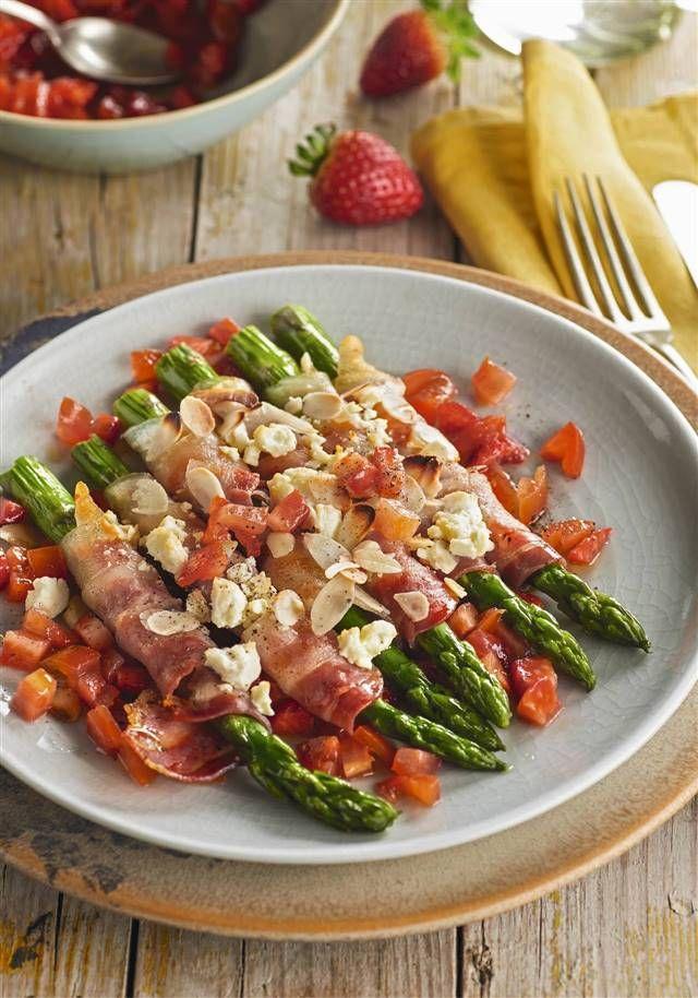 Recetas con espárragos verdes fáciles y sabrosas Pasta Salad, Cobb Salad, Special Recipes, Desert Recipes, Picnic, Healthy Recipes, Healthy Food, Veggies, Food And Drink