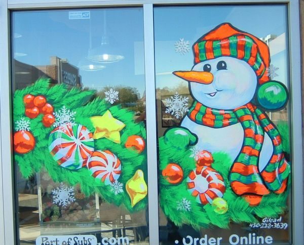 Decora O De Vitrines Para O Natal 2014 Bawden Fine Murals That Time Of Year For Holiday Window Painting Image Result For Holiday Window Painting Ideas Holidays Pinterest Window Holidays And Holiday