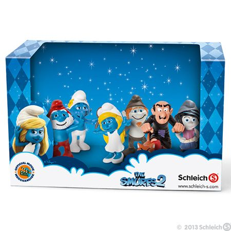 The Smurfs 2 figurine set #toys #collectibles #smurfs