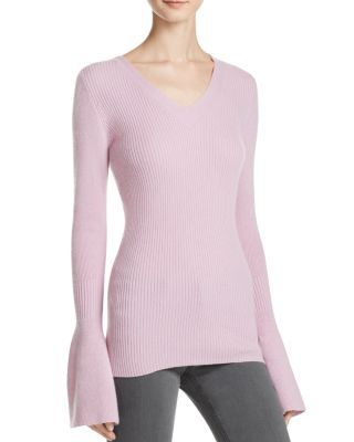 REBECCA MINKOFF Stevie Bell Sleeve Cashmere Sweater. #rebeccaminkoff #cloth #sweater
