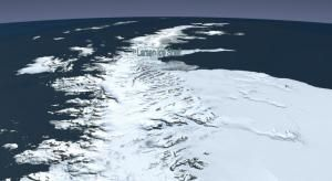 """Sea level rise: New iceberg theory points to areas at risk of rapid disintegration. Story based on materials provided by University of Michigan. Photo Caption: """"The Larsen B ice shelf began disintegrating around Jan. 31, 2002, and eventually collapsed into the Weddell Sea. University of Michigan researchers have devised a new model of iceberg calving that can mirror this event. (Credit: NASA).""""  http://www.sciencedaily.com/releases/2013/07/130722141422.htm"""
