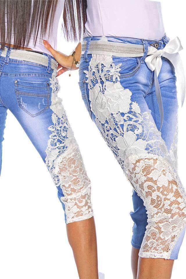 Summertime redo for old jeans