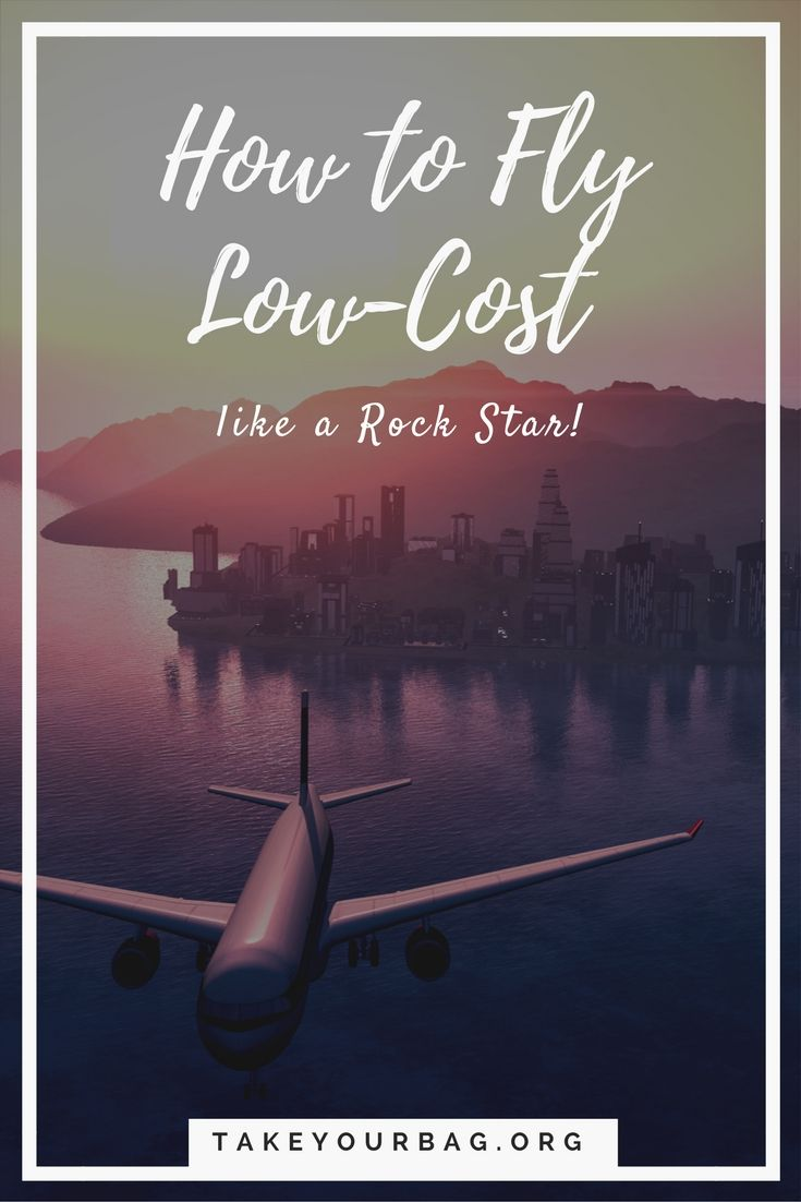 How to Fly Low-Cost like a Rock Star | Guide to Flying Low-Cost | Tips and tricks for when you fly on a low-cost airline #airline #transavia #easyjet #spirit