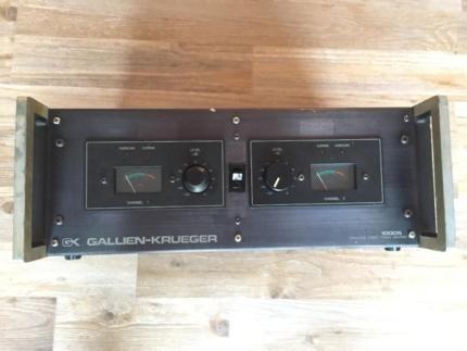 Gallien Krueger 1000S Verstärker / Endstufe / Bass