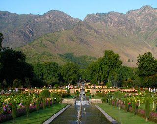 Nishat Bagh, Kashmir    Garden History Matters: Gardens of Islam