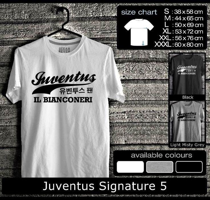 Kaos Juventus FootBall Club | Kaos Juveniti 1