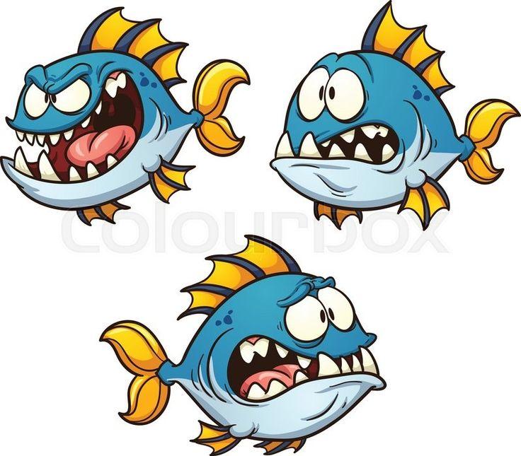 Рисунки прикольных рыб