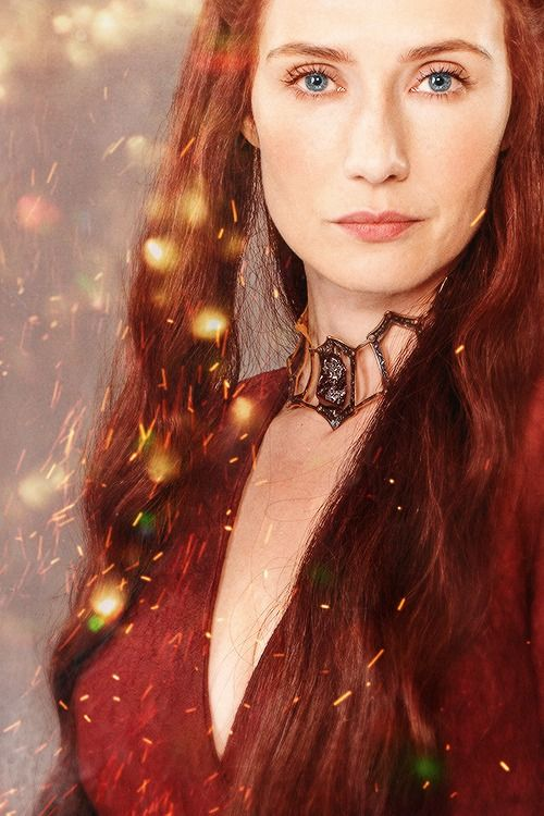Melisandre, often referred to as The Red Woman, is a major character in the second, third, fourth and fifth seasons. She is played by starring cast member Carice